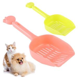 Pet Köpek Kedi Ücretsiz Nakliye için Yüksek Kaliteli Pet Atık Scooper Kürek Plastik Kum Kürek Kitten Temiz Çöp Kaşık Aracı