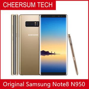 تم تجديده مفتوح سامسونج غالاكسي ملاحظة 8 N950F / N950U 6G RAM 64G ROM الأصلي الهاتف الذكي المحمول الثماني الأساسية