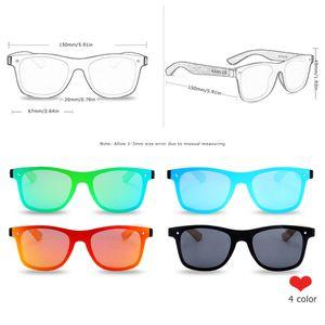 BARCUR Polarized Black Walnut Wood Sunglasses Men Square Women Sun Glasses UV400 Gafas Oculos de sol masculino Y200619
