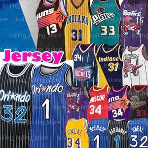 Shaquille 32 ONeal Jersey Tracy Penny 1 Hardaway McGrady de Grant 33 Colina Steve 13 Nash Charles 34 Barkley 31 Miller Hakeem 34 Olajuwon