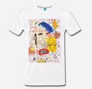 T-shirt MAGLIA Jean Michel Basquiat SOKAK SANAT ARTISTA CITAZIONE - CULT - MITO 3
