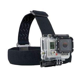 Verstellbare Kopfband Halterungen für Gopro Held 7 6 5 4 3 für Xiaomi yi 4K-Tätigkeits-Kamera-Stirnband für Gopro