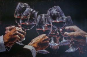 Fabián Pérez para una mejor vida -2 Decoración pintado a mano de la impresión de HD pintura al óleo sobre lienzo de arte cuadros de la pared de lona 200301