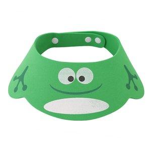 New Soft Einstellbare Baby Shower Cap Kind-Bad-Masken-Hut-Kind-Shampoo Bade Schild Spritzschutz Wasserdicht Protect Shampoo