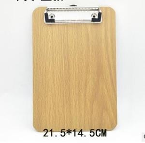 나무 A5 클립보드 문구점립 목재 폴더에 널 책상 파일은 도면 쓰기교 Office 액세서리 도구 품목 Kit