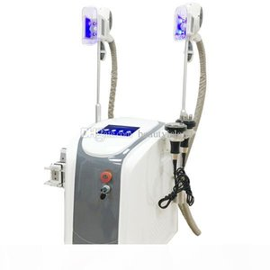 Professional Dual handles Cryolipolysis Freeze Fat Lipolaser Cavitation RF Fat Freezing Cryo Shape Cool Body Sculpting Body Slimming Machine