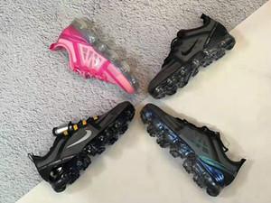 2020 Siyah Statik Yansıtıcı Hyperspace Gerçek Formu Kil Erkek Kadın Batı Koşu Ayakkabıları dantel-up Synth Sneakers 36-45