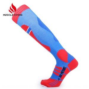 Professional outdoor ski long tube breathable quick dry compressed knee socks climbing warm Keep warm high tube sports socks