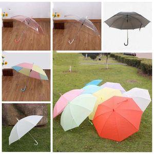 Completa guarda-chuva automático chuva engrenagem Unisex Folding leve e durável 8K fortes chuvas Crianças chuvosos Guarda-chuvas ensolarados 6 cores LXL1064-1