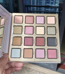 Dropshipping Sugar Plum Fun Eyeshadow Palette 16 colori opaca e di luccichio Shades Eye Shadow Palette fata di trucco Maquiagem Highlighter