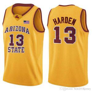 SDCEWGVR Green 23 LeBron 13 James NCAA Harden Jersey Basketball Jersey Arizona State Bethel Irish High School Jerseys Ewcagb
