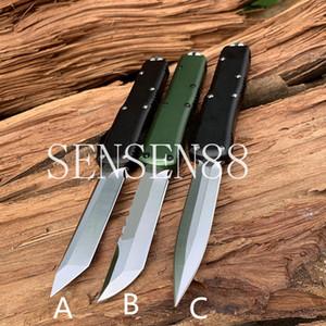 UTX85 3 نمط EDC سكين AutoTactical Aviation سكاكين الألومنيوم D2 شفرة الفولاذ المقاوم للصدأ أداة الدفاع عن النفس