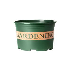 Creativo Flower Pot Giardino Forniture Verde Flower Pot Rosa Gallon Lotus di impianto in vaso bacino del calibro della decorazione del giardino di alta qualità