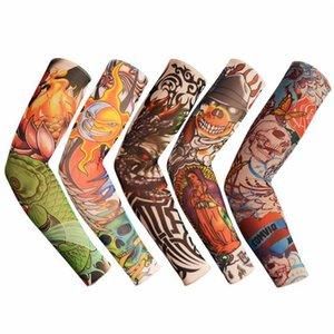 All'ingrosso-veloce del tatuaggio di trasporto Oversleeve del manicotto del braccio della bici della bicicletta del braccio esterno Scalda oversleeve della copertura Sleevelet 100 PCS