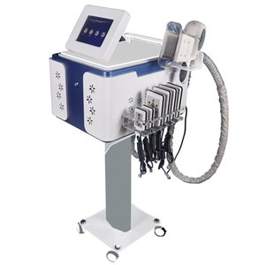 5 In 1 Ultrasonic Cavitation Cryolipolysis Fat Freezing Slimming Machine Cryotherapy Face RF Skin Tighten RF Lipo Laser Machine