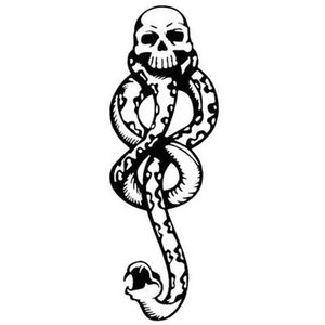 Temporary Tattoo Sticker Waterproof Fake Tatto Harry Potter Tatoo Tatouage Temporaire Flash Tattoo For Men Women