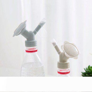 2 In 1 Plastic Plant Kettle Nozzle Flower Waterers Bottle Watering Cans Sprinkler Kettle Nozzle Garden Flower Mini Water Cans EEA1389-7