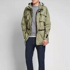 Neue Art und Weise Windjacke mit Kapuze Lange Multi-Tasche High Street Mantel Paar Männer und Frauen lösen Jacke HFXHJK092