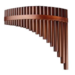 Bamboo fatto strumento musicale 22 Pipes mano Flauto di Pan Sinistra G Key Pan di alta qualità Tubi a fiato in legno Strumento di bambù flauto di pan