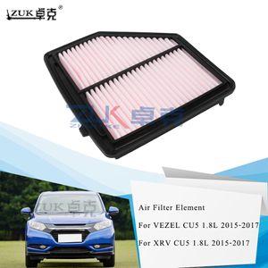 ZUK Brand New Air Filter Element For HONDA VEZEL RU5 1.8L 2015 2016 2017 XRV 1.8 2015-2017 OEM:17220-51B-H00 227x216x48mm
