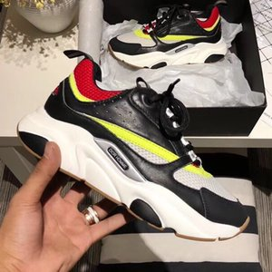 2019 Designer Luxus Schuhe Triple Balck Weiß Fashion Luxury MenSneakers Casual Lederschuhe Runner Trainer Sportschuhe 38-44 b01