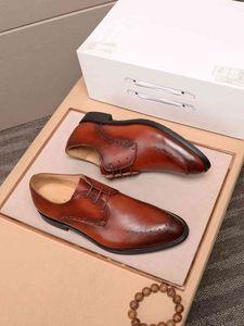 sapatos de couro do negócio moda casual moda masculina moda italiana Causal costa 010701