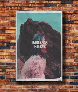 E515 Halsey Badlands Music Singer Star Hot Wall Sticker Home Decoration Silk Art Poster