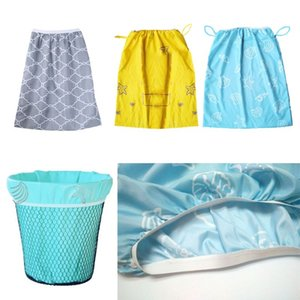Baby Diaper Nappy Wet Bag Waterproof Washable Reusable Diaper Pail Liner Or Wet Bag For Cloth Nappies Or Dirty Laundry 090A
