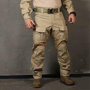EMERSONGEAR G3 Yeni Savaş Pantolon Avcılık Mil Pantolon Diz Pedleri ile Taktik Savaş Pantolon emerson