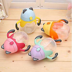Kleinkind Silica Gel 250 ml Netter Baby-Cup für Kinder Kinder lernen Füttern Wasser Griff Bottle Trainings Cup Baby-Cup Trinken Füttern