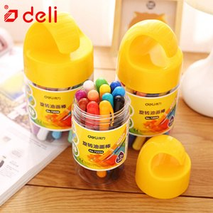 Deli Non-toxic Oil Pastel Crayons Stick Drating Painting Pen Crayon Child Wax Gravely Art School Supplies 12/18/24 Color