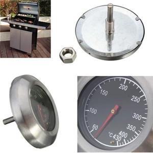 60 درجة ~ 430 درجة عالية الجودة الشواء شواء حفرة المدخن شواء المقاوم للصدأ ميزان الحرارة قياس درجة الحرارة celsius أدوات الطبخ