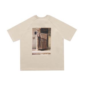 Песня для Mute TEE Tee лето Мужчины Женщины хаки футболка Highstreet скейтборд с коротким рукавом дышащая мода HFLSTX520