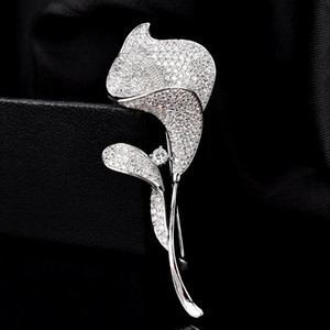 pins brooch button evening dress creative fashion natural pearl brooch women's S925 sterling silver dress accessories