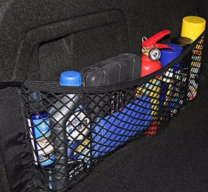 Zubehör Organizer Auto-Kofferraum Net Nylon Suv Auto Lagerung Mesh-Halter-Universal für Autos Gepäcknetze Reisetasche