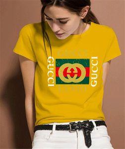 HOT 2019 Summer Designer T Shirts For Womens Tops T Shirt Mens Clothing Brand Short Sleeve Tshirt Women Tops M-XXL