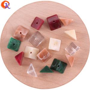 commercio all'ingrosso 8 * 16mm 200 pz / lotto perline acrilico / fai da te / perline per gioielli giapponesi / fatti a mano / effetto di marmo perline / risultati dell'orecchino