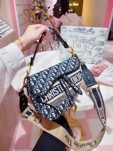 berühmte neuer Brief Umhängetasche Luxus Sattel baghigh Qualität aus echtem Leder Messenger bag02 Handtaschenentwerfer Frauen