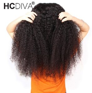 2020 New Kinky Curly Lace Frontal Wig Deep Part Remy Brazilian Wig For Women 13*6 Lace Frontal Human Hair Wigs Pre Plucked 180% Lace Wig
