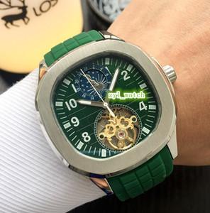 Премиум атмосфера бутик мужские часы серебро корпус из нержавеющей стали часы каучуковый ремешок часы автоматические механические часы