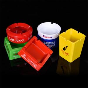 Posacenere di plastica personalizzato posacenere portasigarette personalizzato di plastica di stile e posacenere Personalizzato portacenere di stoccaggio logo DH0967 T03