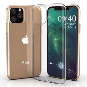 Ultra Slim Soft Silicone Clear Transparent TPU Gel Rubber Silicone Cover Case Skin For iPhone 12 Pro Max 11 XS XR X 8 7 6 6S Plus SE 2020