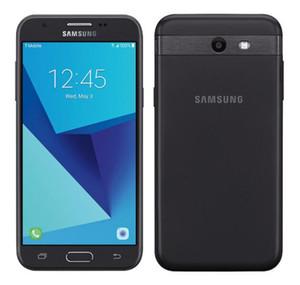 Yenilenmiş Kilidi Orijinal Samsung Galaxy J3 Prime J327 2017 Dört Çekirdekli 1.5GB / 16GB 5.0inch Android 7.0 4G LTE cep telefonu