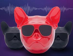 الأزياء Aerobull الكلب رئيس بلوتوث 4.1 بلدغ بلوتوث اللاسلكية دعم HIFI المتكلم مضخم صوت بطاقة يو القرص TF