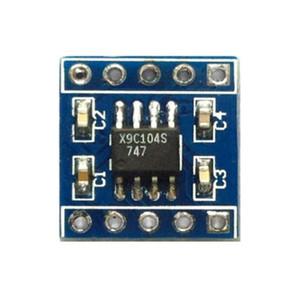 5pcs x9c104 module de potentiomètre numérique / 100-étape potentiomètre numérique / réglage du capteur d'équilibre du pont