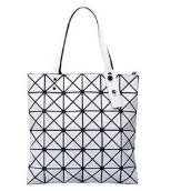 Package Variety Folding Geometry Handbag Thin Handbag Shoulder Package CD Bag Quilted Section Vesbt