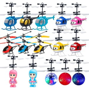 Nuovo Minion drone RC Aeromobili mini drone Fly lampeggiante elicottero di controllo della mano RC gioca Minion quadcopter DRON LED bambini giocattoli (Retail