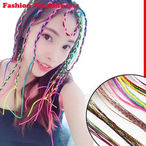 New Girls Colorful Wigs Hair Ornament Fasce Rubber bands Beauty Hair Bands Headwear Dreadlocks Kids Accessori per capelli Fascia per capelli