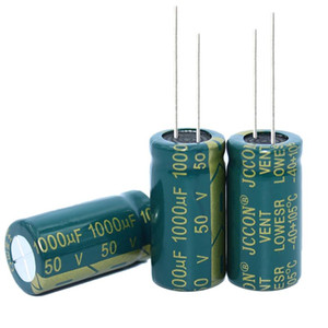50v1000uf Jccon Aluminum Electrolytic Capacitor Volume 13x25 Switching Power