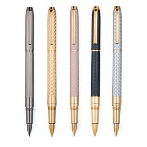 Metall Vector Füllfederhalter 0.5mm Nib Vollmetallgehäuse Pens Geschäfts-Geschenk Schreiben Kalligraphie Bürobedarf